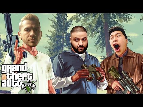 TEAM ALBOE HEISTS #1 | GTA 5 Funny Moments (GTA 5 Online Heists)