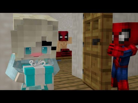 ☸️REGALO SORPRESA Y EL SECRETO DE SPIDERMAN⚔️BABY HERO SCHOOL #BHS Roleplay