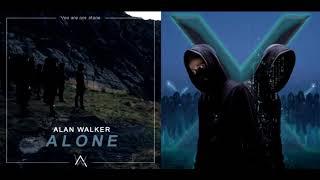 Alone // Unity [Remix Mashup] - Alan Walker, Walkers & Sapphire (Alan x Walkers)