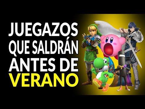 JUEGAZOS que saldrán ANTES de VERANO en Nintendo Switch