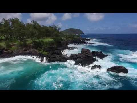 Inspire 1 long clip - Pacific Island Shoreline