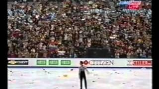 2002 чемпионат мира А Ягудин SP   русский евроспорт