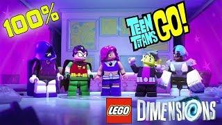 Lego Dimensions Teen Titans GO Part 5 - 100% Adventure World Deutsch | EgoWhity