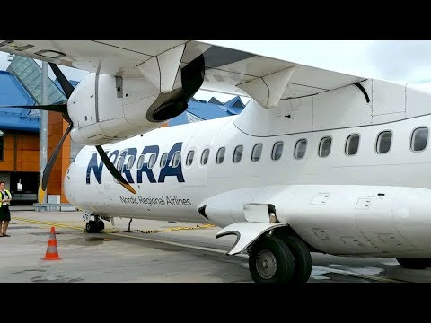 THE ATR 72-500 Flight With Norra Finnair From Helsinki To Stockholm