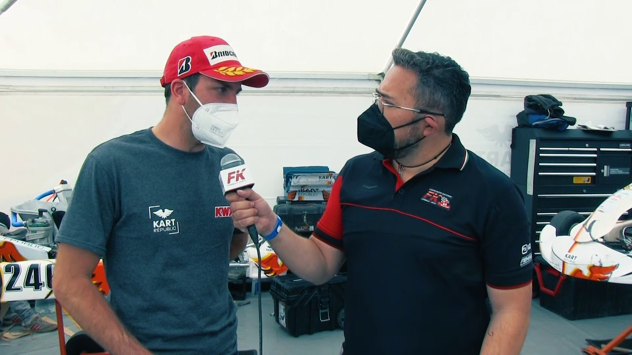 Entrevista Jonathan Thonon Fecha 1 Fórmula Karts 2021