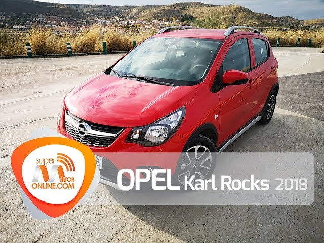 Opel Karl Rocks 2018 / Al volante / Prueba dinámica / Review / Supermotoronline.com