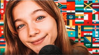 {ASMR} WHISPERING IN DIFFERENT LANGUAGES! 2.0