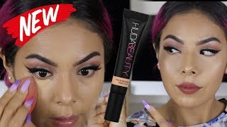 WORTH THE BUY OR NAW?!? || HUDA BEAUTY HIGH COVERAGE CONCEALER
