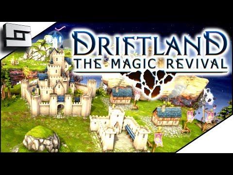 NEW FANTASY RTS!  Driftlands the Magic Revival!