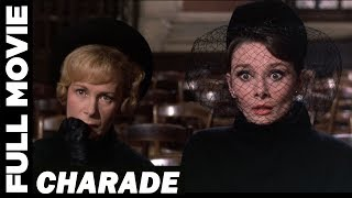 Charade (1963) | Audrey Hepburn, Cary Grant | Comedy Mystery Romance Movie