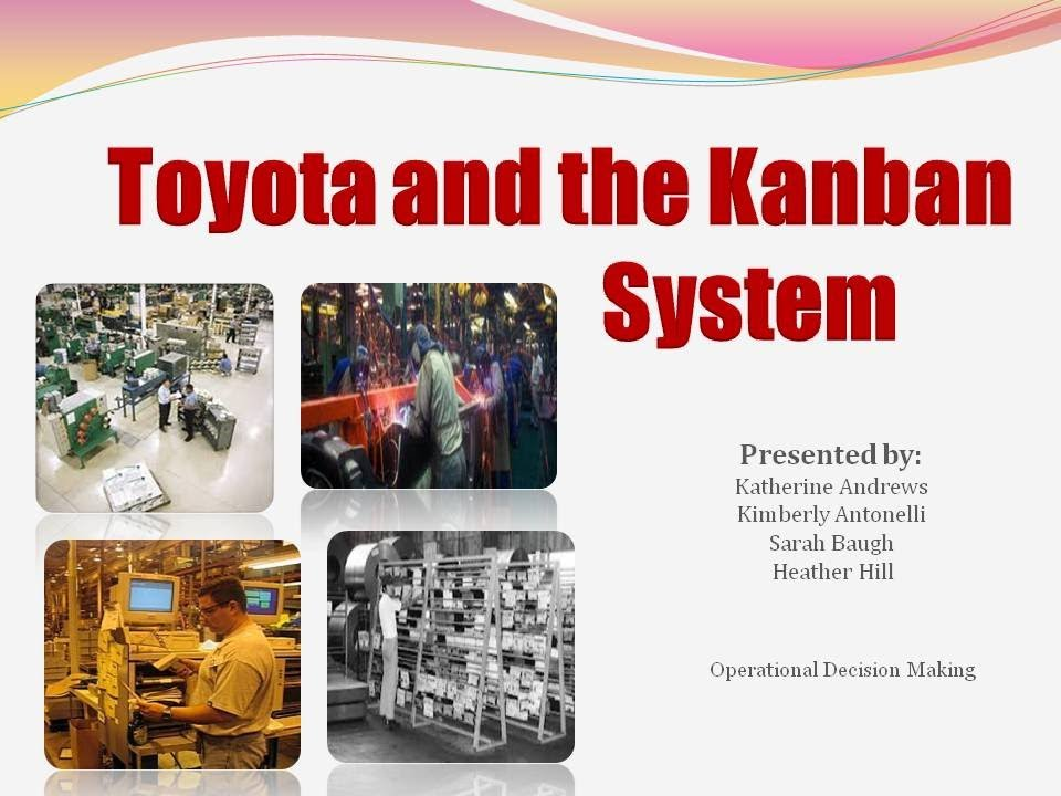 The Kanban System Youtube