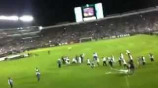 Festejos en el Estadio León Campeón