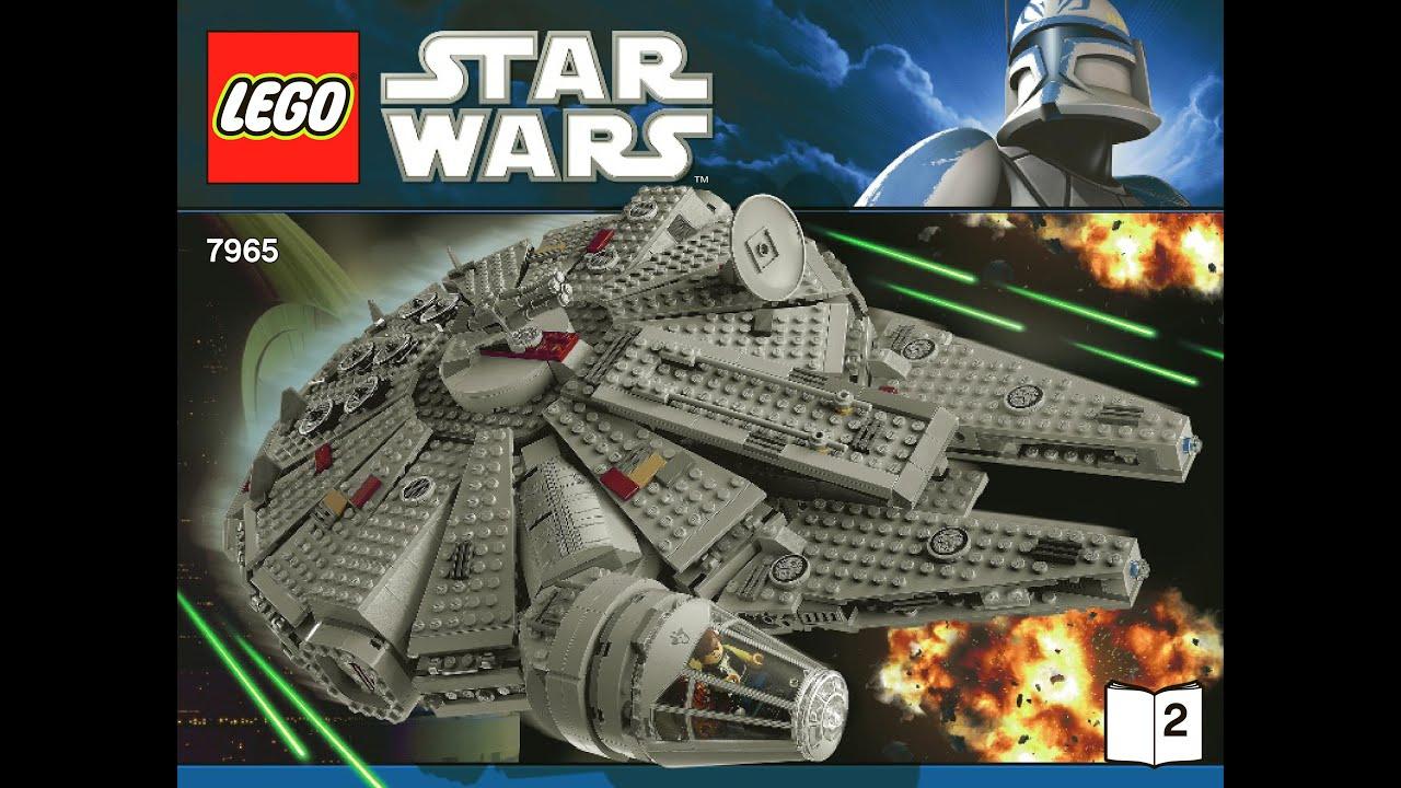 LEGO Star Wars Millennium Falcon 75105 Building Kit Book 2 ...