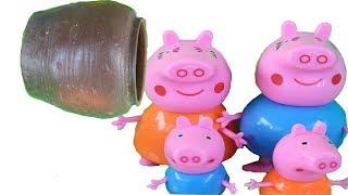 รถดับเพลิงกู้ภัย Peppa Pig Story โดย Car Police Cartoon Kids Songs