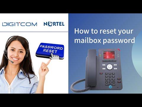 How to Reset Mailbox Password on Nortel Phones | Digitcom