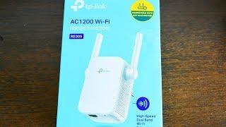 Как подключить усилитель  Wi Fi Tp Link AC 1200 Wi Fi Range Extender Как подключить усилитель  Wi Fi