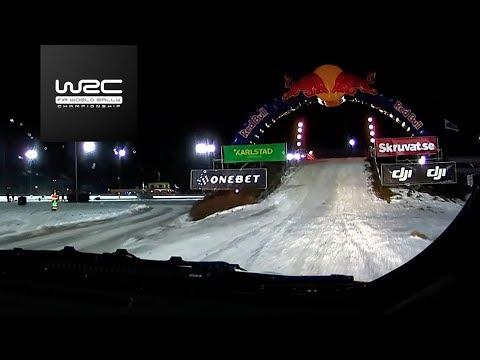 WRC - Rally Sweden 2018: SS1 ONBOARD Tänak