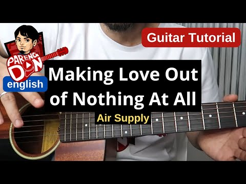 Making Love Out of Nothing at All - Guitar Chords Tutorial (Air Supply)