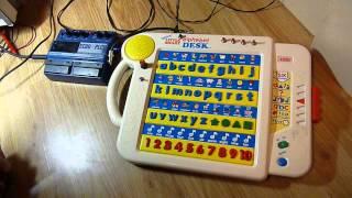 Circuit Bent Vtech Little Smart Talking Alphabet Desk Into A Digitech Pds8000