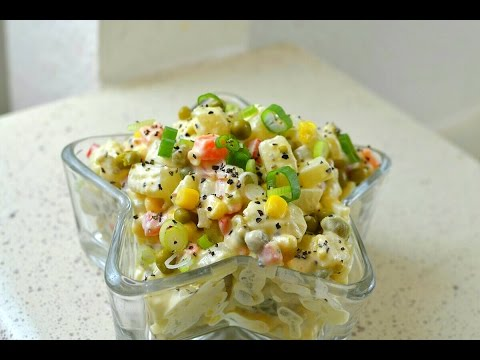 Jamaican Style Potato Salad - grandma's recipe