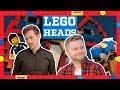 Building LEGO Theme Park Rides | LEGO Worlds vs. Bricks - LEGO Heads