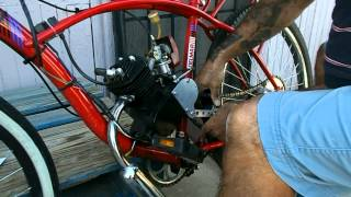 Michigan Motor Bikes Chain Tensioner Install on My Motorized Bicycle
