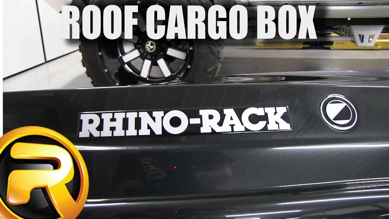 How to Install Rhino Rack Roof Cargo Box