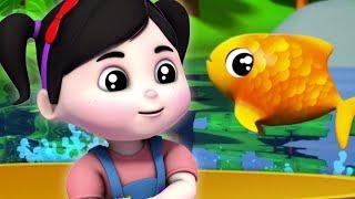 catturato un pesce vivo   numeri Canzone per bambini  contando i numeri   Once I Caught A Fish Alive