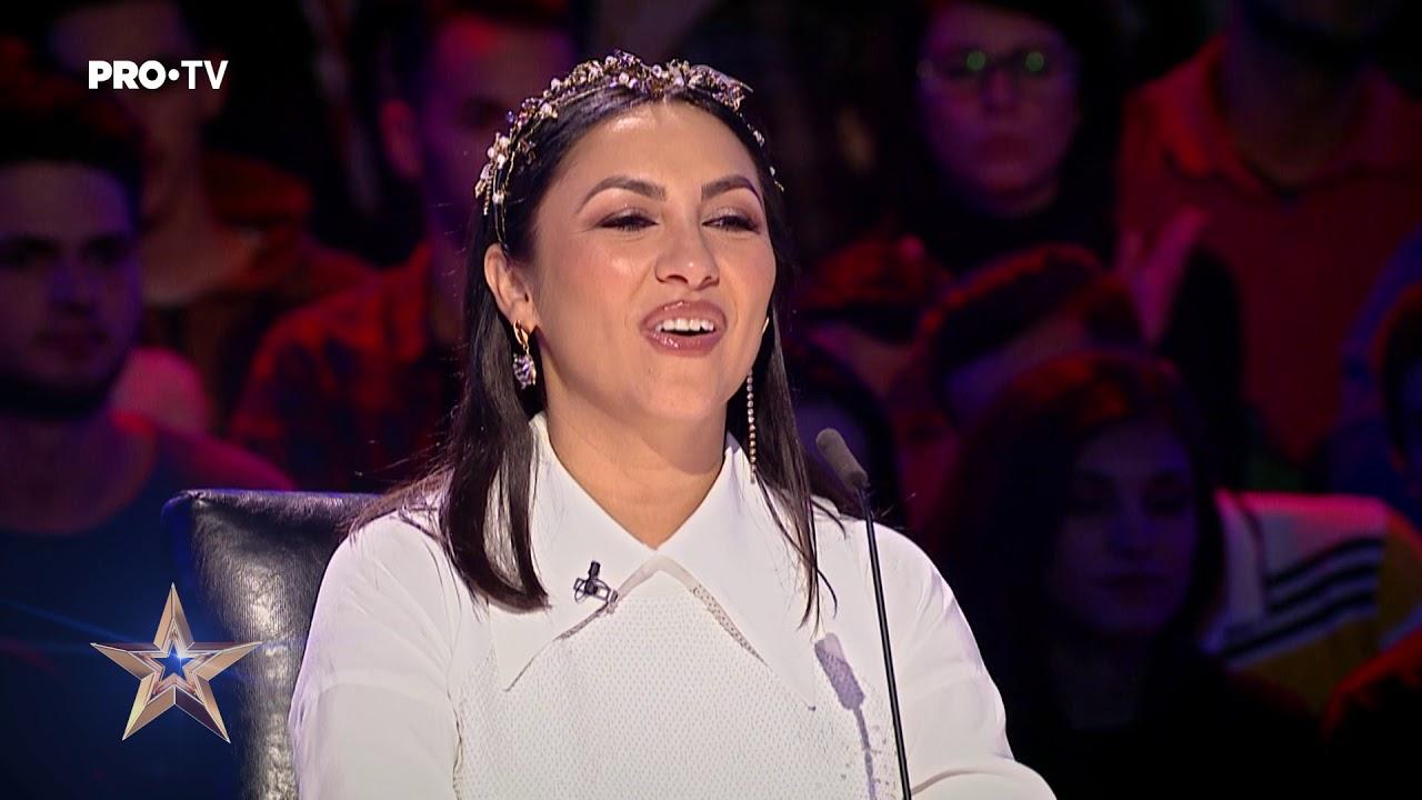 Rămâi fără aer când el dansează   Noris Lobonțiu - Românii au Talent