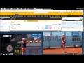 Tenis Broker - Bados vs Kerber