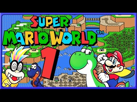 SUPER MARIO WORLD Part 1: Auf Reisen in Dinosaur Land