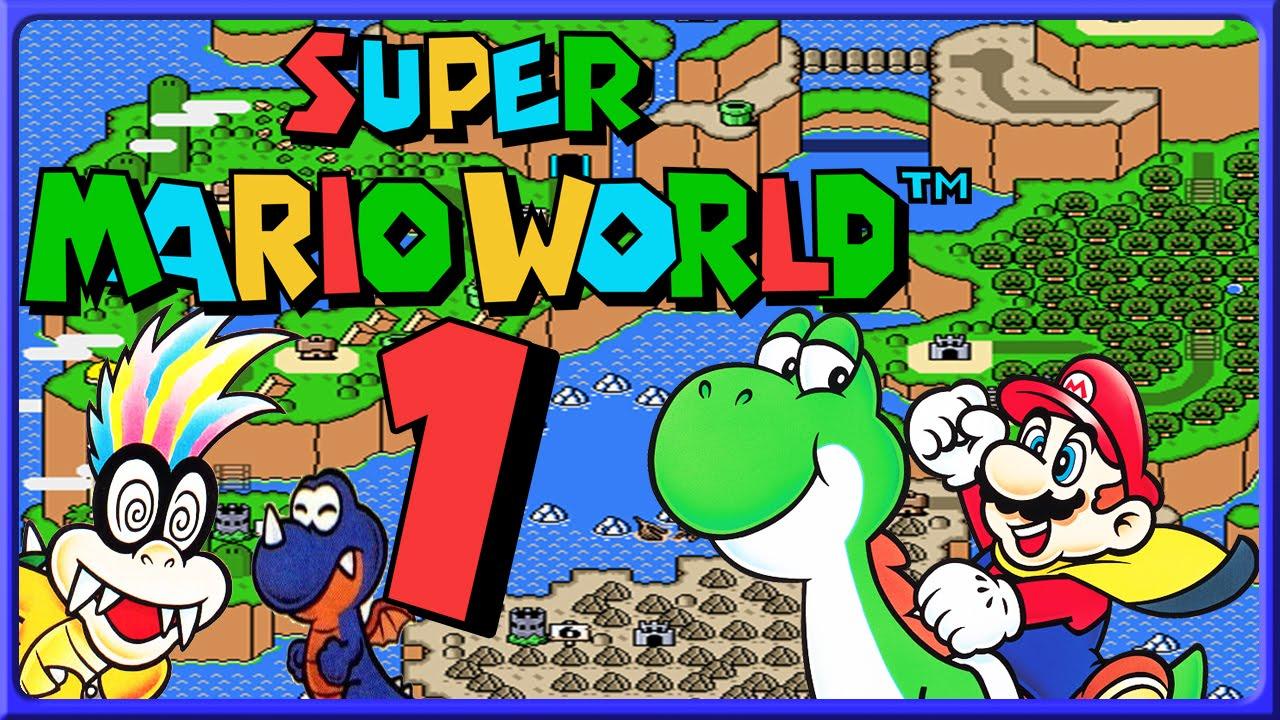 SUPER MARIO WORLD Part 1: Auf Reisen In Dinosaur Land