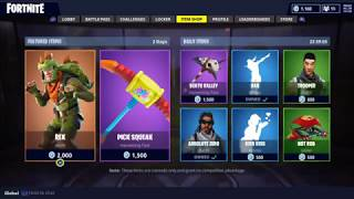 Fortnite - New Rex Skin - Pick Squeak Pickaxe (Mise à jour quotidienne 3-3-18)