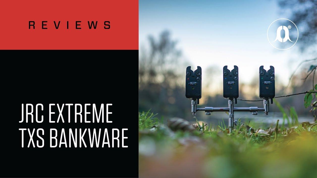 JRC Extreme TXS 3 Rod Buzzer Bars Edelstahl