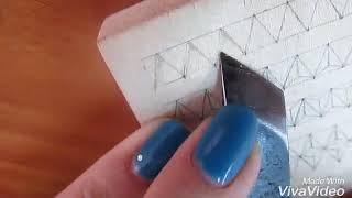"""1 видео урок по геометрической резьбе"""" Выполнение элементов сколышки и треугольники"""""""