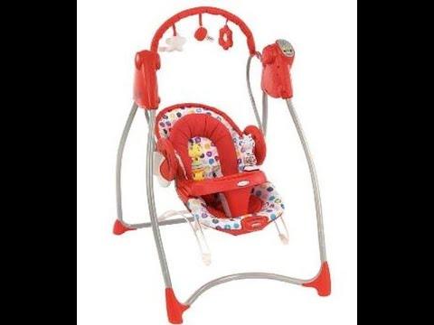 Кресло качалка Graco делаем питание от сети своими руками Swingn Bounce