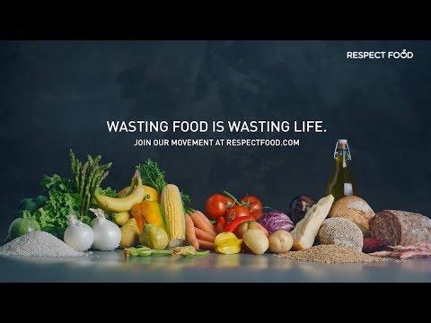 Sprecare il cibo è sprecare la vita #RespectFood | GRUNDIG