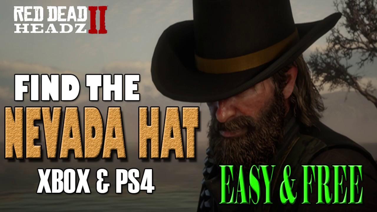 Red Dead Redemption 2 | Find the Nevada Hat | Secret Cowboy Hat Tutorial