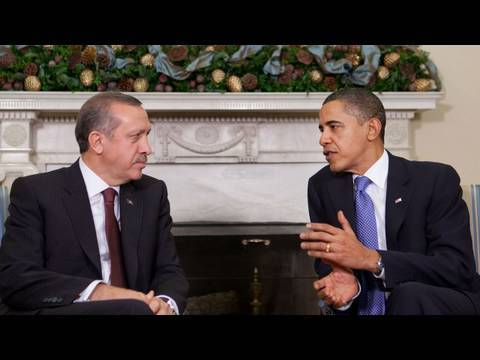 President Obama Meets with Turkish Prime Minister Erdogan