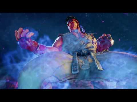 Street Fighter V  Ryu vs Necalli  Hadouken Theme