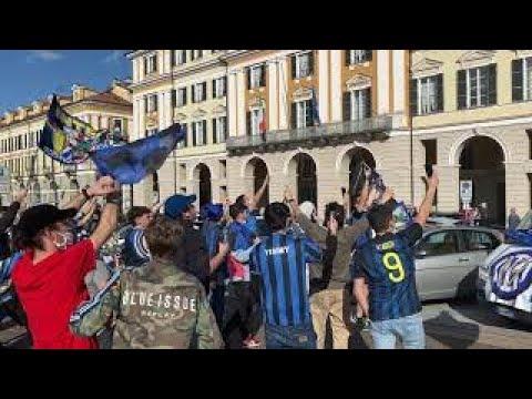 sfilata scudetto inter 2021 - Amala