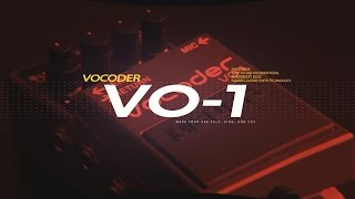 BOSS VO-1 Vocoder Demo with Austin Sandick