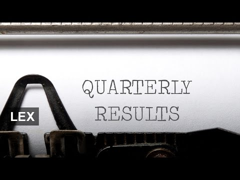 Quarterly reporting − too many numbers?