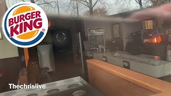 Verlassene Burger King Filiale Hamburg Steilshoop 2019