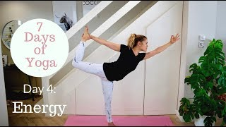 Day 4 For Energy | 7 Days of Yoga | Madeleine Shaw