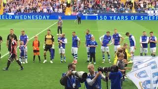 Sheffield Wednesday V Sheffield UTD At Hillsborough