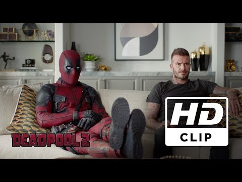 Deadpool 2 | David Beckham Clip | Legendado HD
