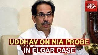 Uddhav Thackeray Clarifies On NIA Probes, Claims Bhima Koregaon Different From Elgar Parishad