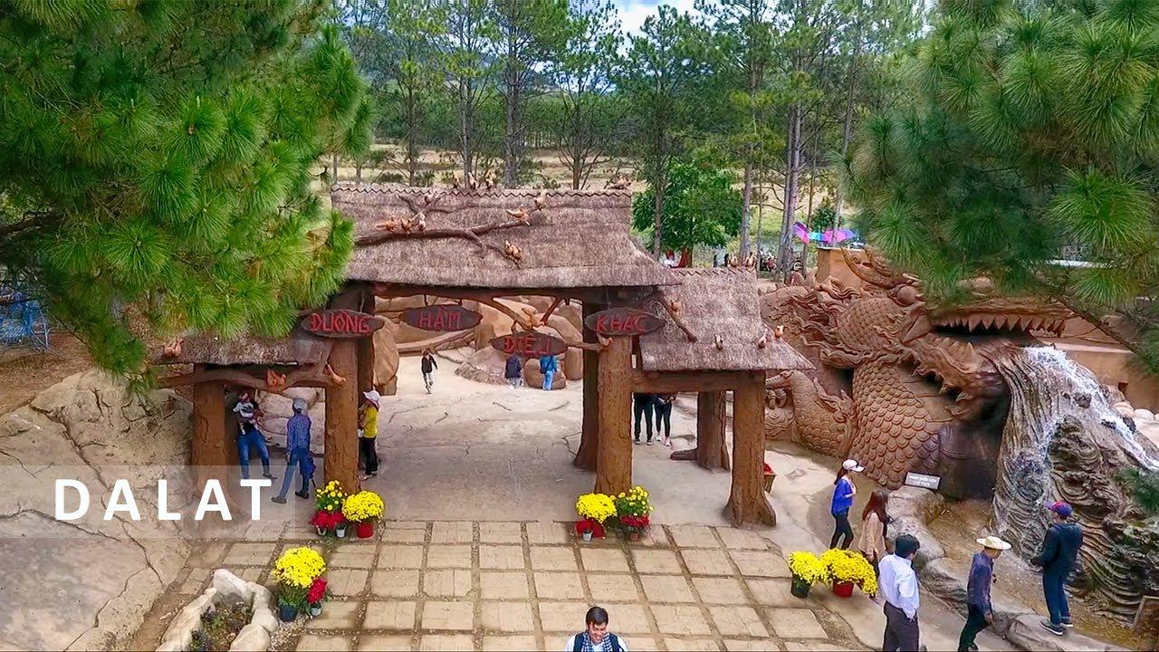 Làng Đất Sét – Đường hầm điêu khắc dưới lòng đất ở Đà Lạt | ZaiTri