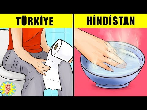 Yurtdışında Türkiye'den FARKLI Yapıldığını Bilmediğiniz 8 ŞEY